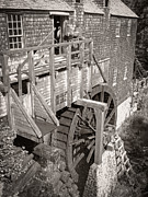Sawmill Framed Prints - The Old Saw Mill Framed Print by Edward Fielding