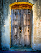 Street Photography Digital Art - The Old Spanish Doorway by Perry Webster