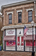 Brick Building Prints - The Old Sweet Shop Print by Heather Applegate