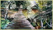 Mindy Newman - The Old Swinging Bridge