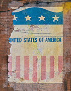 4th July Posters - The Old Tag Poster by Martin Bergsma