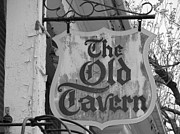 Local Restaurants Posters - The Old Tavern Poster by Michael Krek
