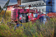 Ferguson Originals - The Old Tractor by Yves Gagnon