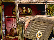 Ron Roberts Photography Greeting Cards Posters - The Old Truck Poster by Ron Roberts