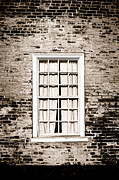 Brick Wall Prints - The Old Window Print by Olivier Le Queinec