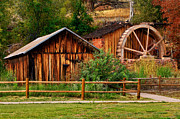 Grist Mill Art - The Olde Mill by Jeffrey Campbell