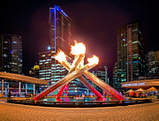 Alexis Birkill - The Olympic Cauldron in...