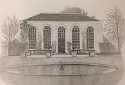 The Orangery Print by Norman Richards