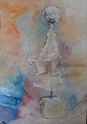 Clay Pastels - The Orator by Karen Coggeshall