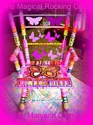The  Original Magical Rocking Chair Print by Maryann  DAmico
