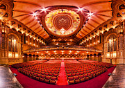 Seats Photo Prints - The Orpheum Theatre Print by Alexis Birkill