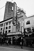Orpheum Theatre Prints - the orpheum theatre home of the vancouver symphony Vancouver BC Canada Print by Joe Fox