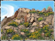 Scottsdale Mixed Media - The other hill by Craig Nelson