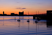 Boston Harbor Photos - The Other Side of the Harbor by Joann Vitali