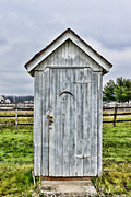 Plumbing Framed Prints - The Outhouse - 2 Framed Print by Paul Ward