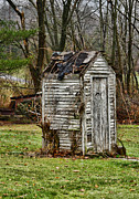 Plumbing Framed Prints - The Outhouse - 3 Framed Print by Paul Ward