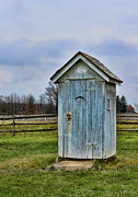 Plumbing Framed Prints - The Outhouse - 4 Framed Print by Paul Ward