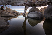 Watson Lake Photos - The Over Under by Bob Larson