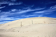Sand Dunes Photo Posters - The Overtaking Poster by Laurie Search