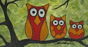 Molly Roberts - The Owl Family