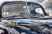 Police Cars Metal Prints - The Paddy Wagon Metal Print by JC Findley