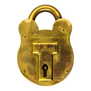 Safeguard Prints - The Padlock Print by Martin Bergsma
