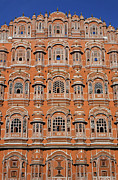 Jaipur Photos - The Palace of the Winds at Jaipur in Rajasthan India by Robert Preston