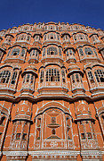 Jaipur Photos - The Palace of the Winds Jaipur by Robert Preston