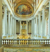 Palace Of Versailles Prints - The Palace of Versailles Print by Jan Moore