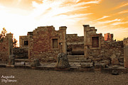 Abstract Sights Photo Prints - The Palaestra -Kourion-Apollo Print by Augusta Stylianou