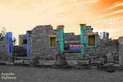 Abstract Sights Metal Prints - The Palaestra - Kourion-Apollon Metal Print by Augusta Stylianou