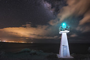 Lahaina Prints - The Pali Lighthouse Print by Hawaii  Fine Art Photography