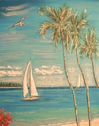 Skies Pastels - The Palms by The Beach  Dreamer