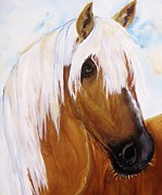 Quarter Horses Originals - The Palomino by Lil Taylor