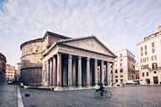 Pantheon Framed Prints - The Pantheon Framed Print by Matteo Colombo