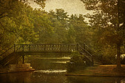 Iron Bridge Prints - The Park Print by Cindi Ressler