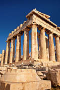 Acropolis Photo Posters - The Parthenon Poster by Brian Jannsen