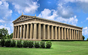 Nashville Tennessee Posters - The Parthenon Poster by Kristin Elmquist