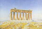 The Parthenon Print by Thomas Hartley Cromek