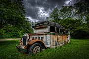 Ver Sprill Photo Originals - The Party Bus by Michael Ver Sprill