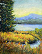 Beautiful Scenery Pastels Prints - The Passage Print by Arlene Baller