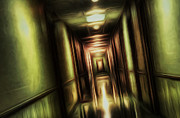 Eerie Digital Art Prints - The Passage Print by Scott Norris