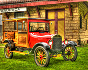 Old Car Art - The Past in the Present by Thomas Young