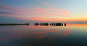Larry Marshall Prints - The Pastel Sea - Panorama  Print by Larry Marshall