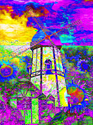 Vibrant Color Digital Art - The Pastoral Dreamscape 20130730 by Wingsdomain Art and Photography