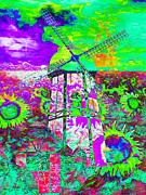 Vibrant Color Digital Art - The Pastoral Dreamscape 20130730m135 by Wingsdomain Art and Photography