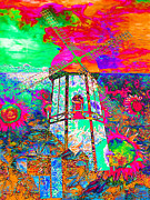 Vibrant Color Digital Art - The Pastoral Dreamscape 20130730p95 by Wingsdomain Art and Photography