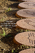 Stepping Stones Prints - The Path Print by Don Durante Jr