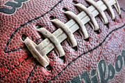 Footballs Closeup Photos - The Path by JC Findley