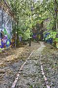 The Path Of Graffiti Print by Jason Politte